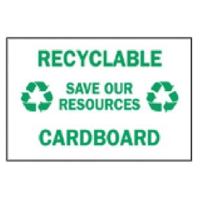 Brady™ Recycle and Environment Signs