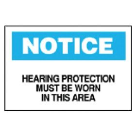 Brady™ Ear Protection Signs