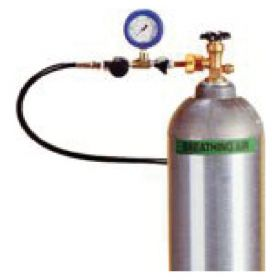 Air Systems™ Cascade Bottle Fill Whip Cylinders