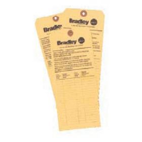 Bradley™ Eyewash Inspection Tag