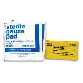 Honeywell™ North™ Replacement Sterile Gauze Pads for First Aid Stations