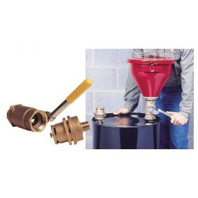 Justrite™ Tip-Over Protection System for Drum Funnel