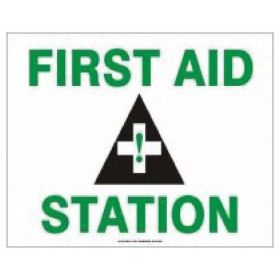 Accuform Signs First Aid Signs