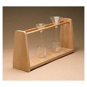 Bennett Wood Specialties Support for Eight Funnels or Beakers
