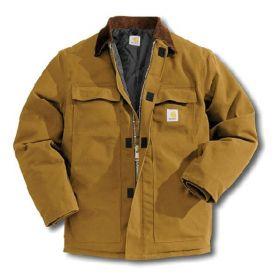 Carhartt™ Men's Duck Traditional Artic Quilt-Lined Coat