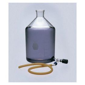 DWK Life Sciences Kimble™ KIMAX™ Valved Outlet Reservoir Bottles with Tubulation