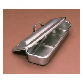 Medegen Stainless-Steel Utility Trays with Cover