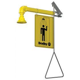Bradley™ Horizontal Supply Emergency Drench Shower Fixture