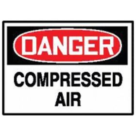 Accuform Signs Danger: Compressed Air Sign
