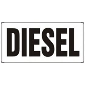 Accuform Signs Diesel Signs