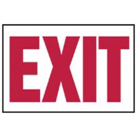 Accuform Signs Exit Sign