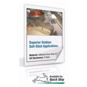 Accuform Signs Adhesive Dura-Vinyl Materials