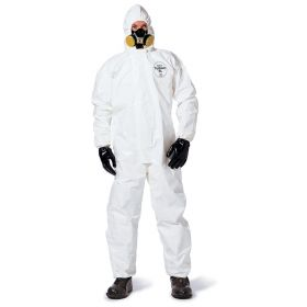 DuPont™ Tychem™ SL Coveralls with Elastic Respirator Fit Closure