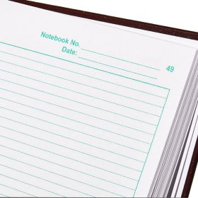 Thermo Scientific™ Nalgene™ Lab Notebooks with Regular Paper Pages, A4, burgundy