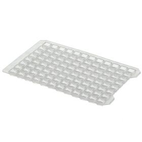 Thermo Scientific™ Nunc™ 96-Well Cap Mats, Natural, Sterile 96 Well Cap Mat for square wells, resistant to DMSO