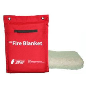 ZING™ Enterprises Eco Fire Blanket - Tote Set