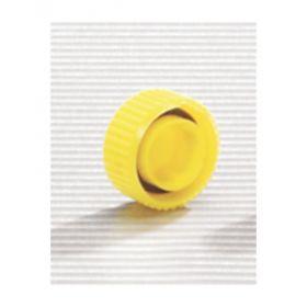 Thermo Scientific™ Screw Cap Microcentrifuge Tube Caps, yellow