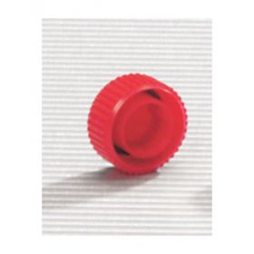 Thermo Scientific™ Screw Cap Microcentrifuge Tube Caps, red