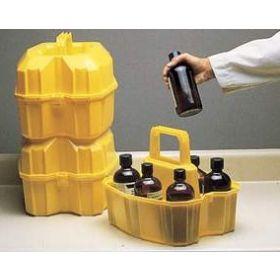 Thermo Scientific™ Nalgene™ Safety Bottle Carrier - Half-Liter; LLDPE