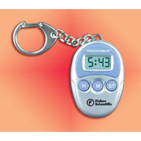 Fisher Scientific™ Traceable™ Handheld Timers with Key-Ring Clip