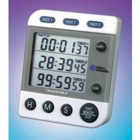 Fisherbrand™ Traceable™ Three-Line Alarm Timer (Est Del 3 wrk days)