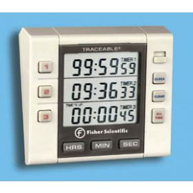 Fisher Scientific™ Traceable™ Three-Channel Alarm Timers