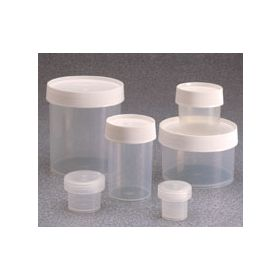 Thermo Scientific™ Nalgene™ Straight-Side Polypropylene Jars with Screw Caps